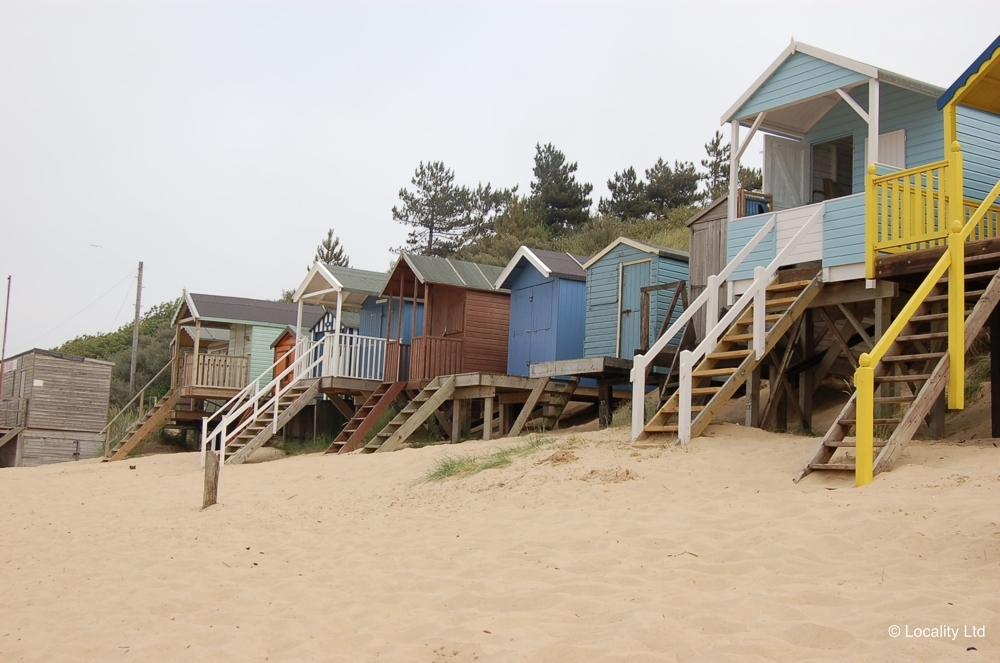 beach huts film and photography hire